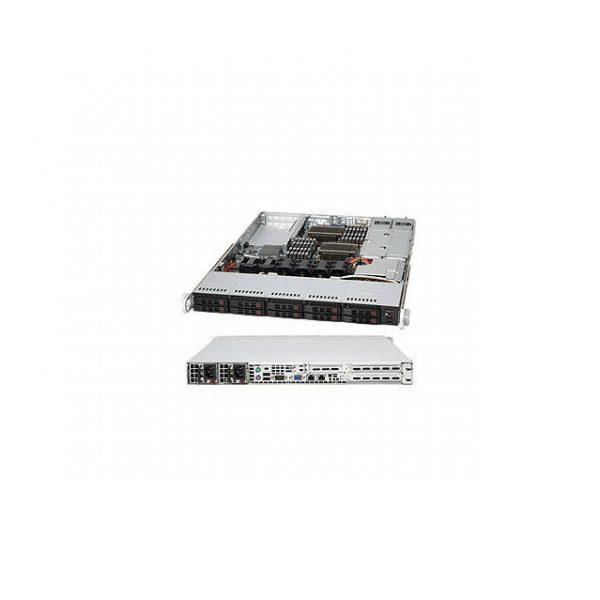 Supermicro SuperChassis CSE-116TQ-R700CB 700W/750W 1U Rackmount Server Chassis (Black)