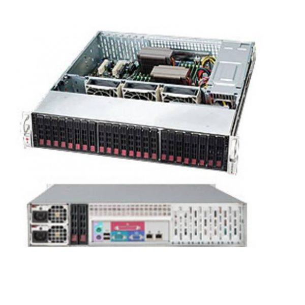 Supermicro SuperChassis CSE-216BE26-R920LPB 920W 2U Rackmount Server Chassis (Black)