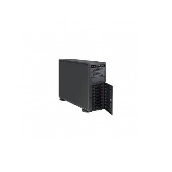 Supermicro SuperChassis CSE-743TQ-1200B 1200W 4U Rackmount Server Chassis (Black)