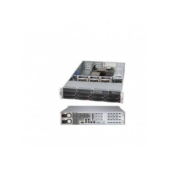 Supermicro SuperChassis CSE-825TQ-R740WB 740W 2U Rackmount Server Chassis (Black)