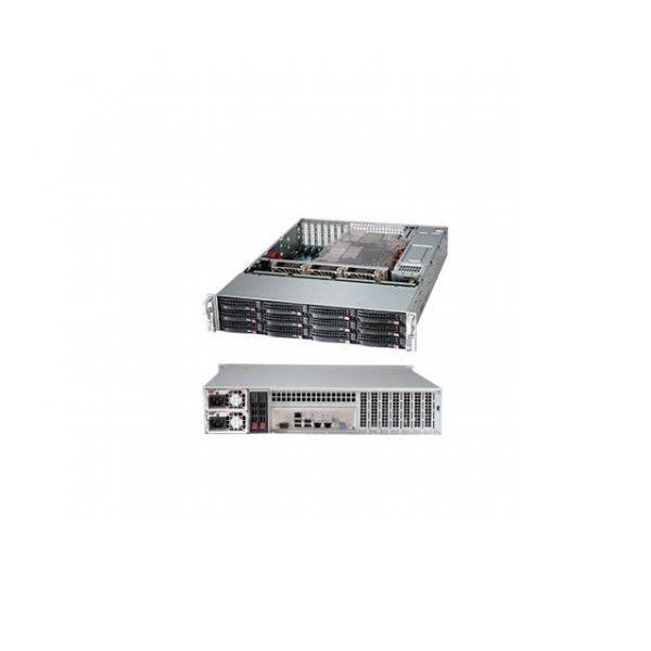 Supermicro SuperChassis CSE-826BE1C-R920LPB 920W 2U Rackmount Server Chassis (Black)