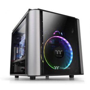 Thermaltake Level 20 VT CA-1L2-00S1WN-00 No Power Supply MicroATX Case (Black)
