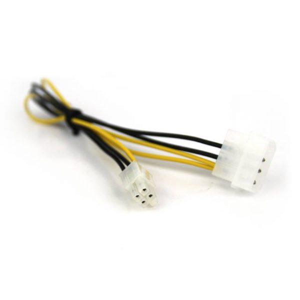 VCOM CE309 12inch 4Pin Molex Male to 4Pin ATX Cable