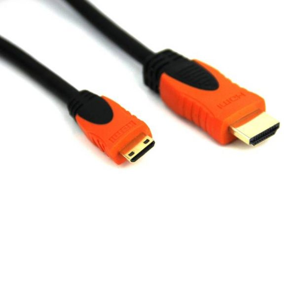 VCOM CG582-O-6FEET 6ft HDMI Male to Mini HDMI Male Cable w/ HDMI v1.3