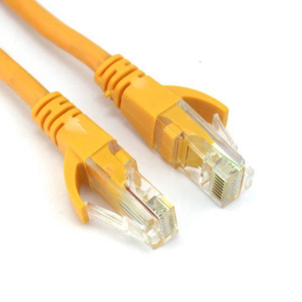 VCOM NP511B-10-ORANGE 10ft Cat5e UTP Crossover Patch Cable (Orange)