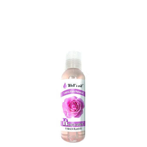 Well 408 Rose Water Oil 4Oz