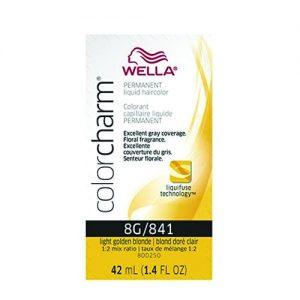 Wella Color Charm Liquid Color 841/8G Light Golden Blonde