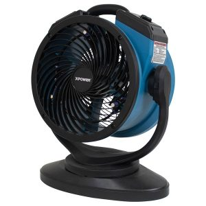 XPOWER(TM) FM-68 FM-68 Multipurpose Oscillating Portable 3-Speed Outdoor-Cooling Misting Fan and Air Circulator