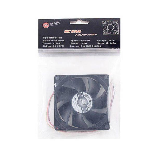 iMicro 12V 80x80x25mm Case Fan