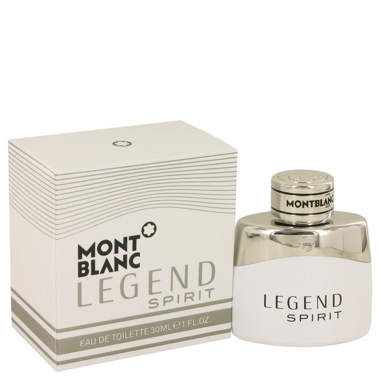 Montblanc Legend Spirit Cologne By Mont Blanc Eau De Toilette Spray